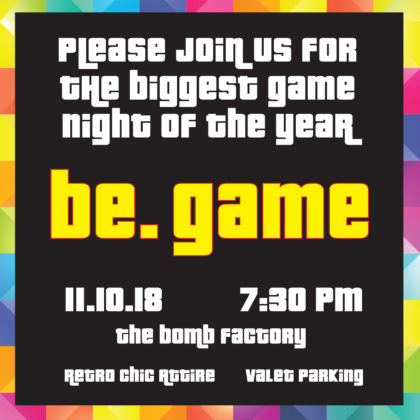 be. invite
