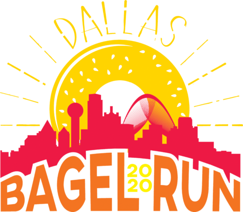 bagel run 2020 logo