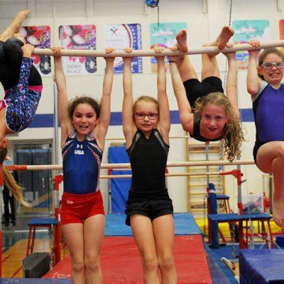 gymnastics girls bar