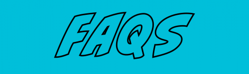 FAQs Header-Blue